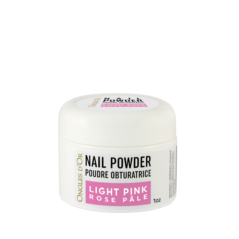 Poudre Rose Ongles d'Or 1 oz