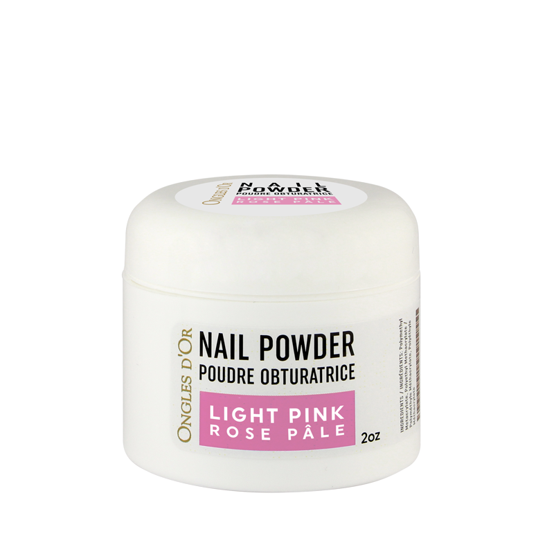 Poudre Rose Ongles d'Or 2 oz
