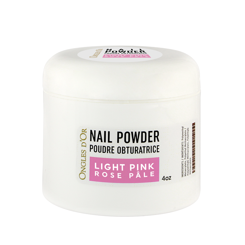 Poudre Rose Ongles d'Or 4 oz