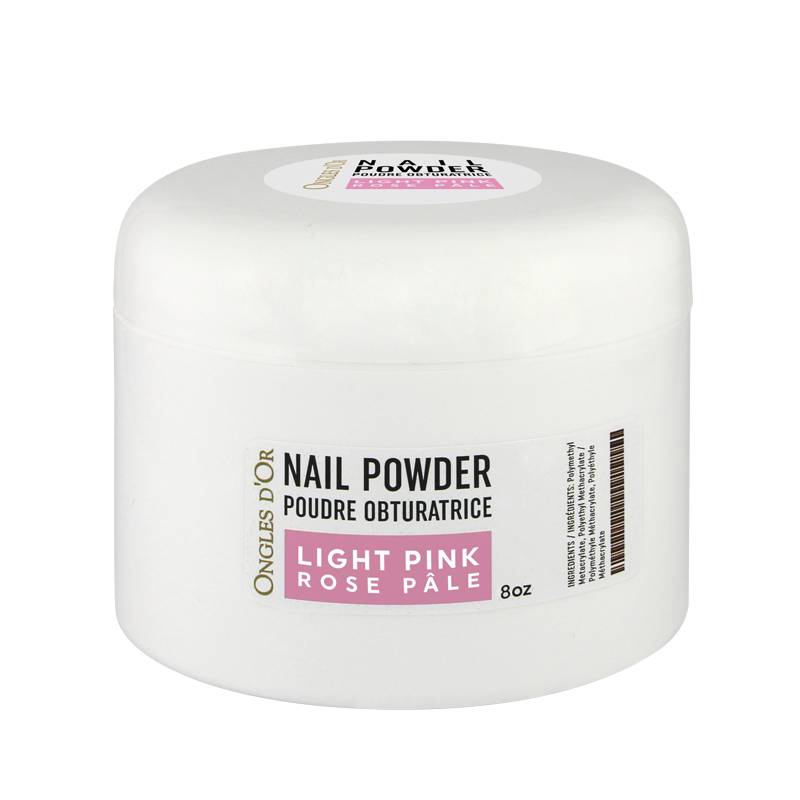 Poudre Rose Ongles d'Or 8 oz