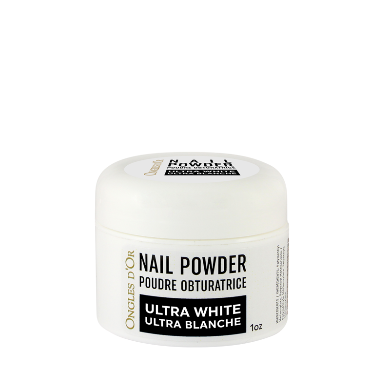 Poudre Ultra Blanche Ongles d'Or 1 oz