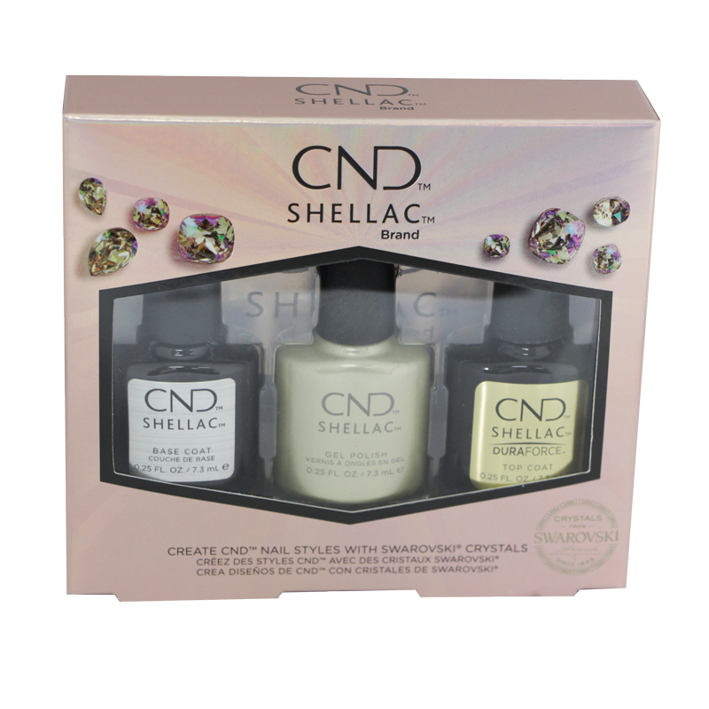Shellac UV Polish Divine Diamond (Trio + Free Stones)