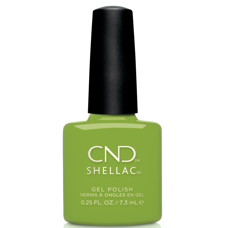 Shellac UV Polish Crisp Green #363 7.3 mL LIMITED EDITION