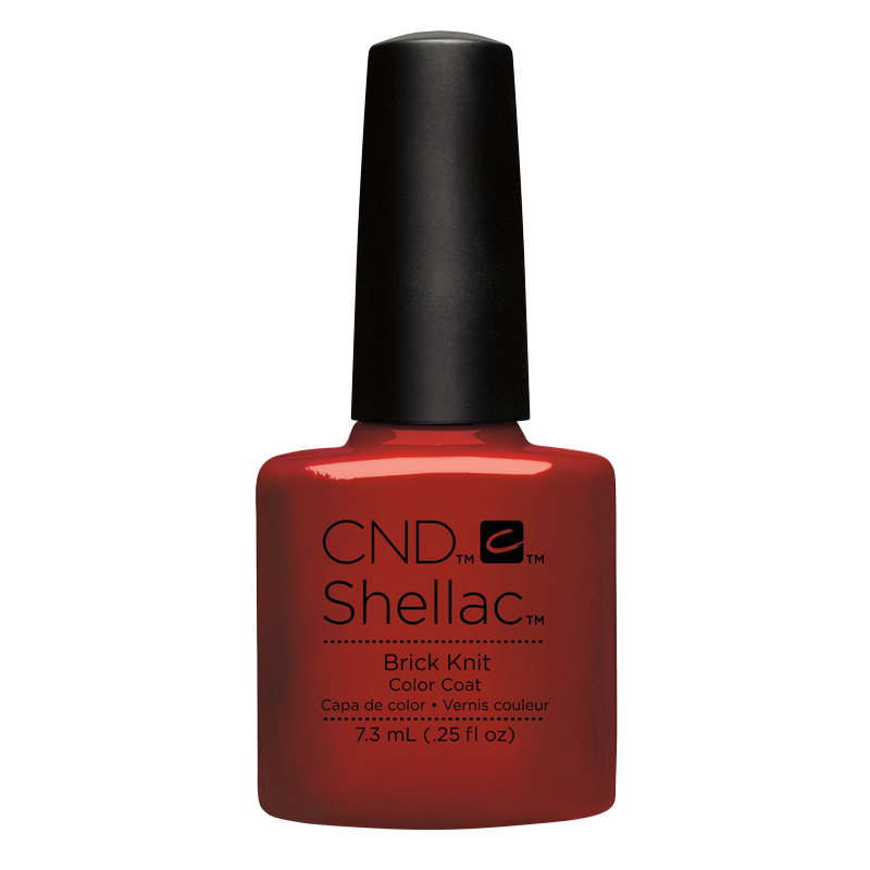 Shellac CND UV Polish Brick Knit 7.3 ml