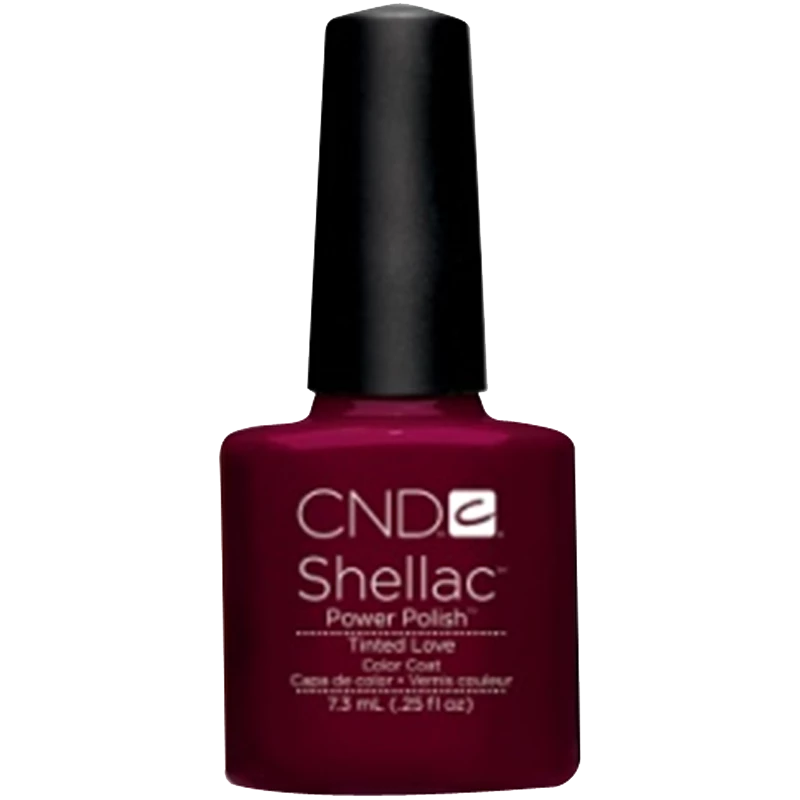 Shellac CND UV Polish Tinted Love 7.3 ml - Red Shellac