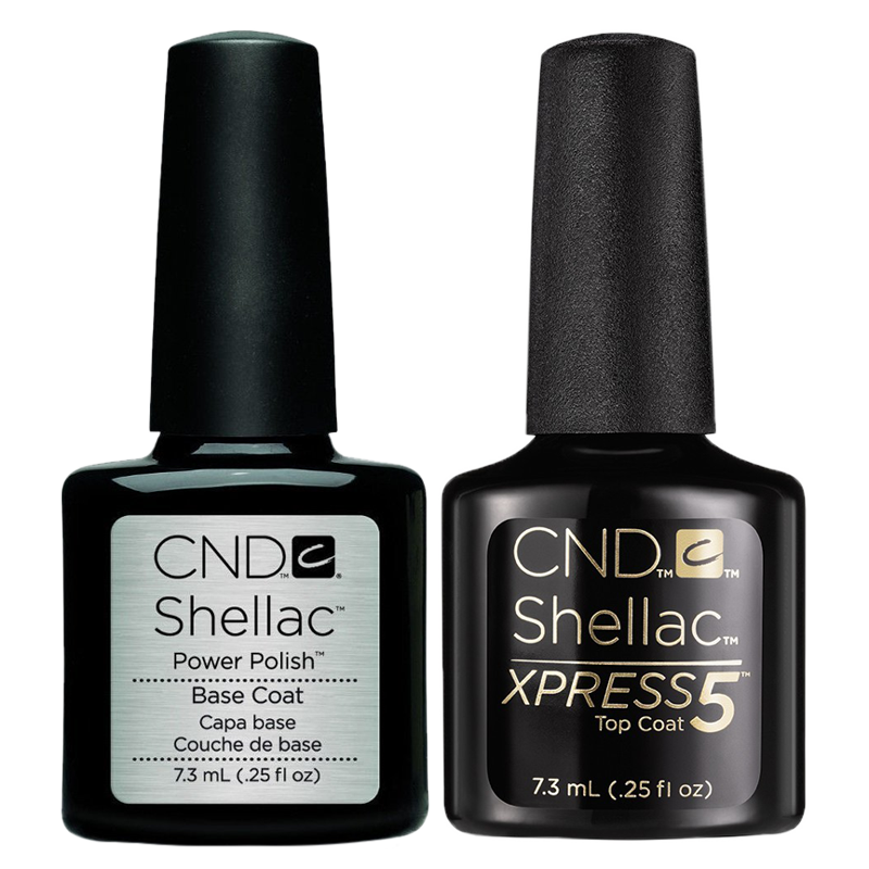 Shellac CND UV polish Xpress5 Top and Base combo 7.3 ml