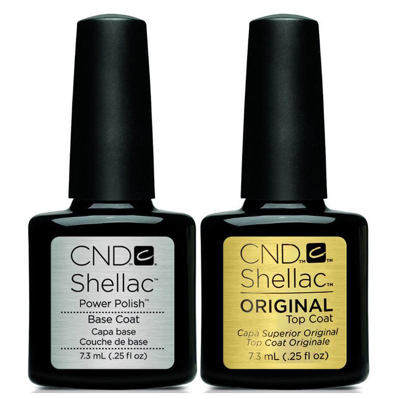 Shellac UV polish top and base combo 7.3 ml