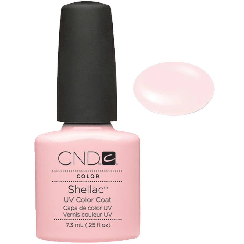Shellac UV Polish Clearly Pink 7.3 ML SHEER PINK FOR FRENCH MANICURE