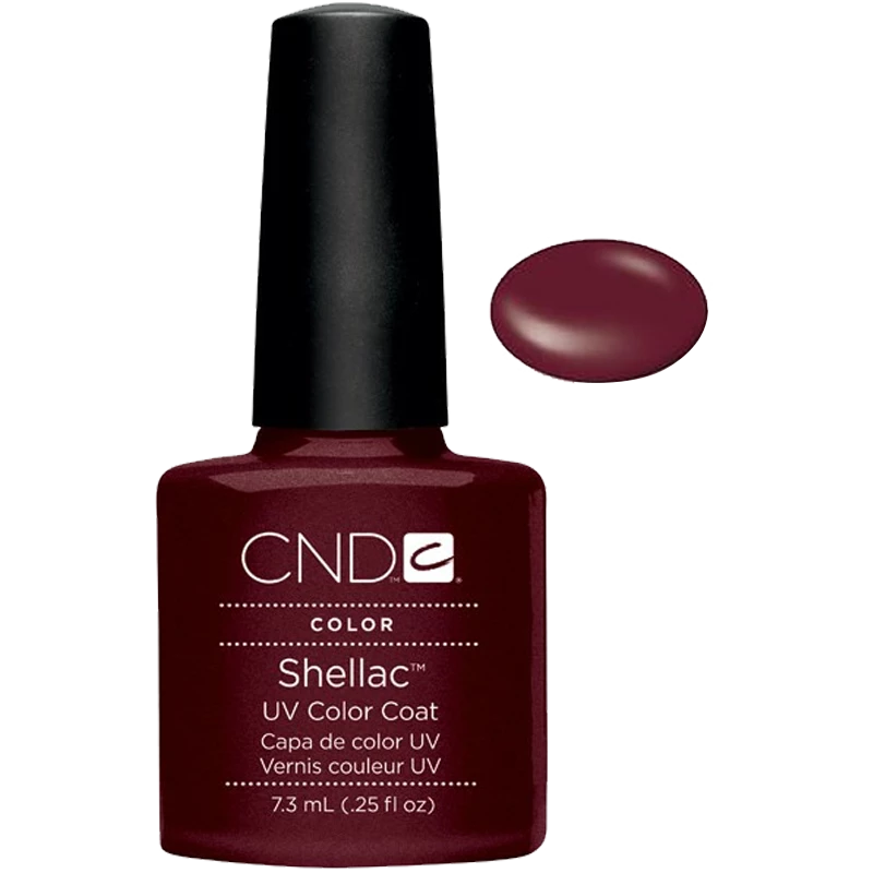 Shellac UV Polish Dark Lava 7.3 ML