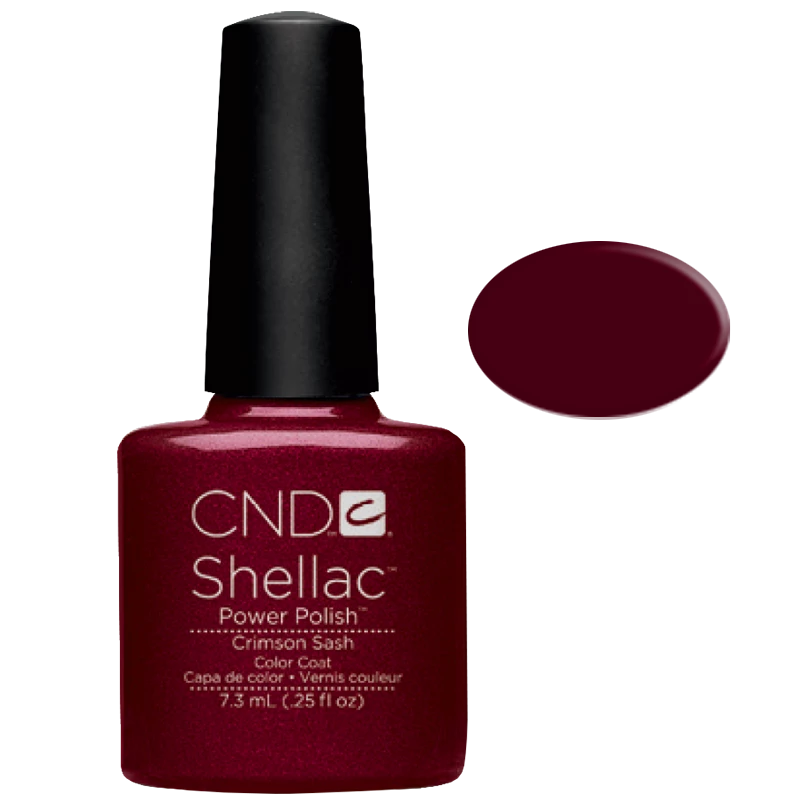 Shellac UV Polish Crimson Sash 7.3ML