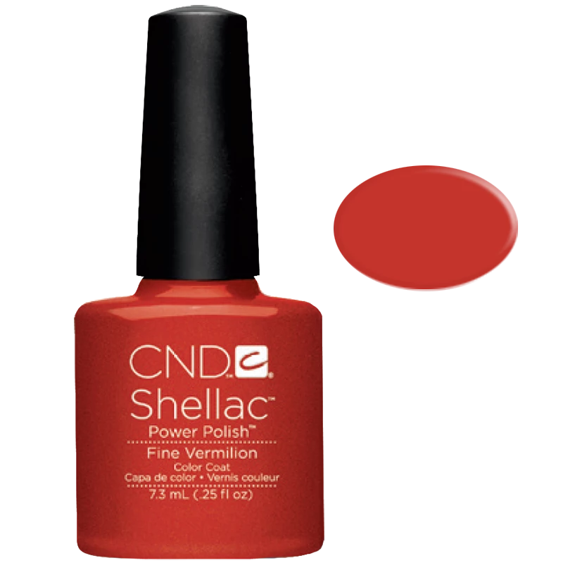Shellac UV Polish Fine Vermilion 7.3ML