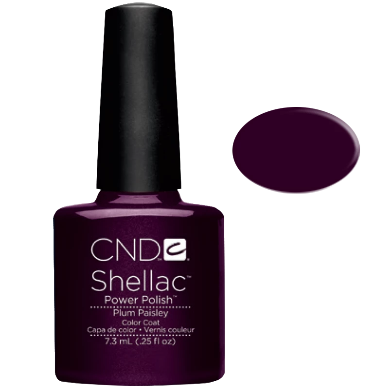 Shellac UV Polish Plum Paisley 7.3ML