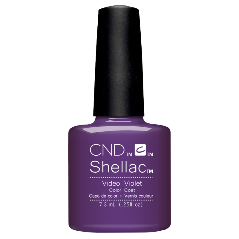 Shellac UV Polish Video Violet 7.3 ML (New Waves)