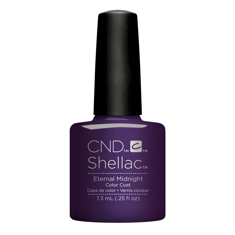 Shellac UV Polish Eternal Midnight 7.3 ml (Nightspell)