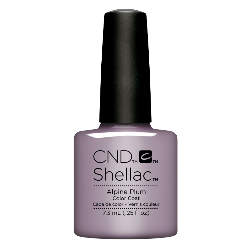 Shellac UV Polish Alpine Plum 7.3 ml (Glacial Illusion)