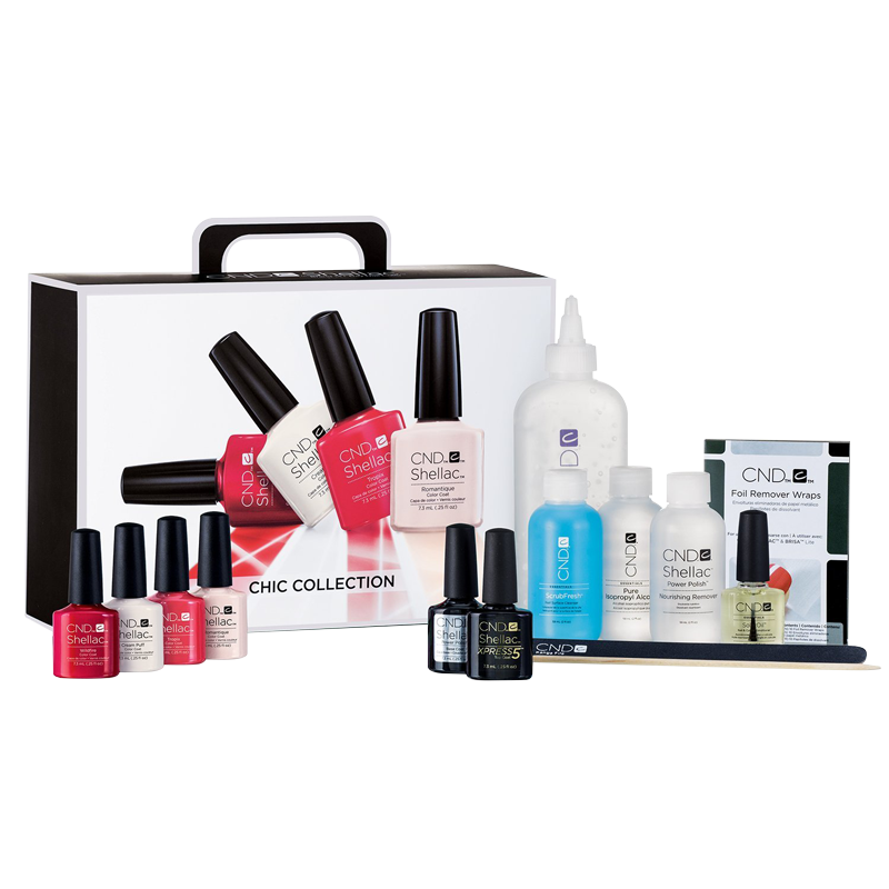 Shellac Kit d'introduction Vernis UV Chic Collection