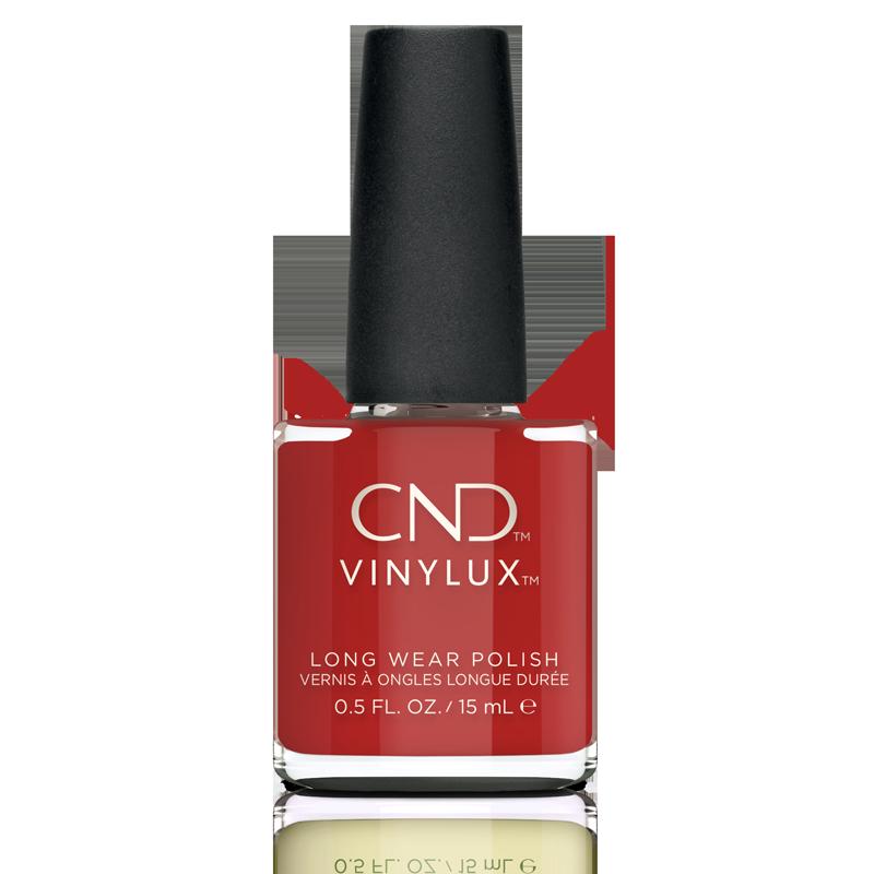 Vinylux CND Nail Polish #364 Devil Red 15mL
