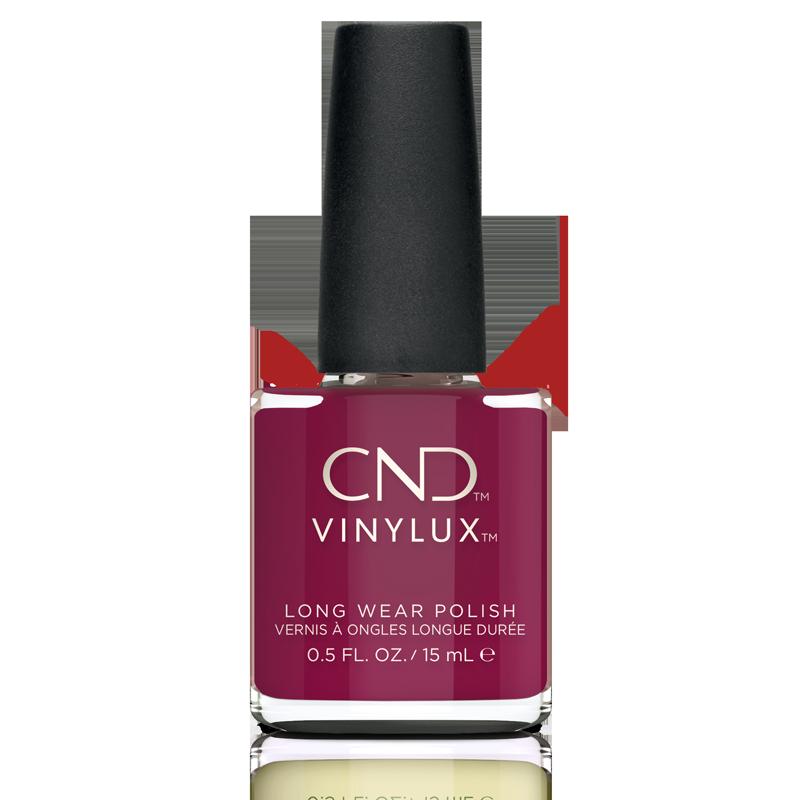 Vinylux CND Nail Polish #366 How Merlot 15mL