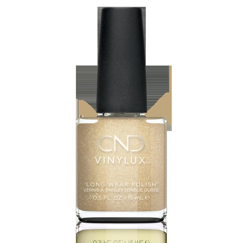 Vinylux CND Nail Polish #368 Get That Gold 15mL